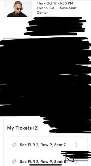 Chris Brown tickets for Sale in Fresno, CA
