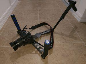 DSLR Video Camera Rig Handheld Stabiliser Cage with shoulder support DLC DL-V9 New for Sale in Davenport, FL