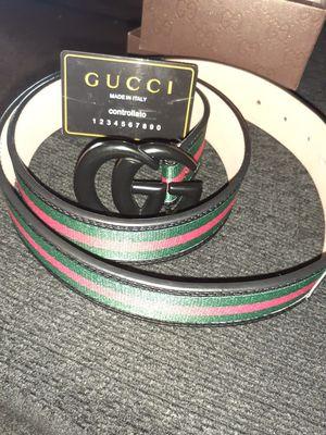 New men gucci belt for Sale in Bakersfield, CA