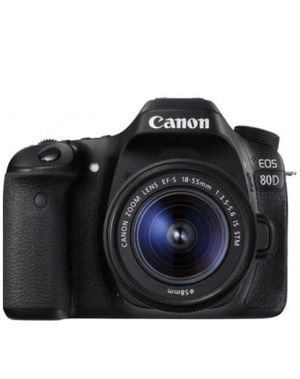Canon EOS 80D Super Bundle. See Description For Info. A $2500 Value For $1600 for Sale in Dallas, TX