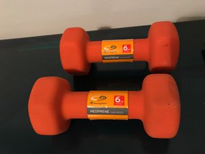 6 lb weights for Sale in North Miami, FL
