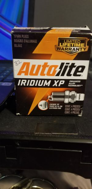 NEW AUTOLITE IRIDIUM XP SPARK PLUGS for Sale in Modesto, CA