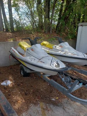 1993 Yamaha Pro Jet Skis with Trailer for Sale in Temple, GA