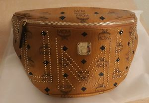 Gold Studded MCM Waist Bag for Sale in Peoria, AZ