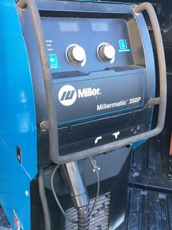 Miller Millermatic 350p Mig Welder 220v Great Condition for Sale in Los Angeles,  CA