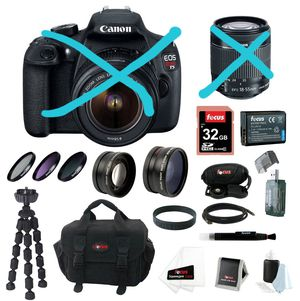 Canon Deluxe Accessorie Kit and Camera Bag for Sale in Edgewood, WA