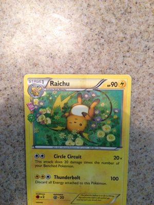 Pokemon Stage Raichu for Sale in Fresno, CA