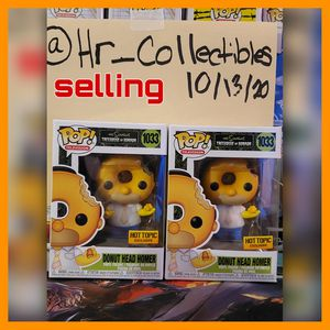 The Simpsons Donut head Homer Funko Pop for Sale in Queens, NY