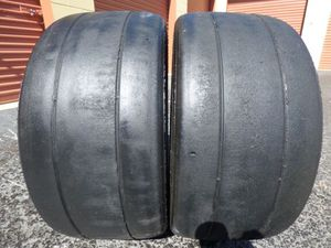 Slicks drag radial tires 235 35 19 for Sale in Tampa, FL