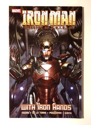 Iron Man Graphic Novel Comic Book Like New for Sale in Gaithersburg, MD