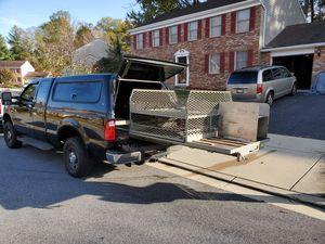 Extended bed 6ft & camper for 7ft bed for Sale in Montpelier, MD