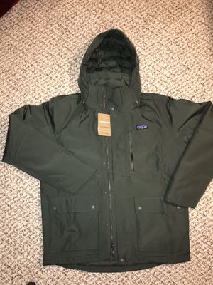 Brand New Patagonia Mens M Alder Green Toplay Jacket for Sale in Columbus, OH