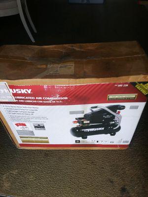 Husky air compressor 3gal 125psi for Sale in Cutler Bay, FL