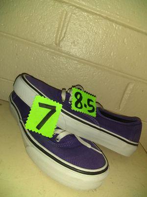 Size 7m8w Vans skateboard shoes for Sale in Phoenix, AZ