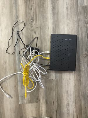 WiFi modem router for Sale in Vancouver, WA