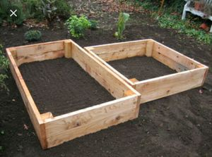 Cedar Raised Planter/Flower Beds for sale for Sale in Seattle, WA
