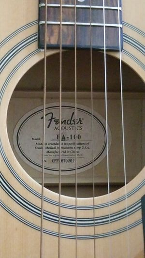 Fender dreadnought acoustic Guitar for Sale in Industry, CA