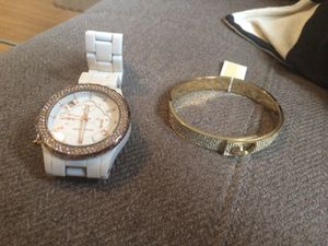 Michael Kors watch and bracelet $50 for Sale in Detroit, MI