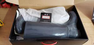 Hunter rain boot size 8 for Sale in Big Bear Lake, CA