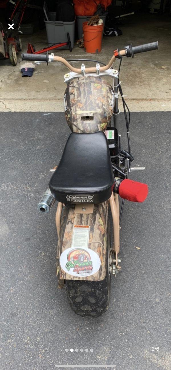 Colman mini bike