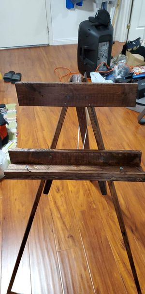 Big wood easel for Sale in Los Angeles, CA