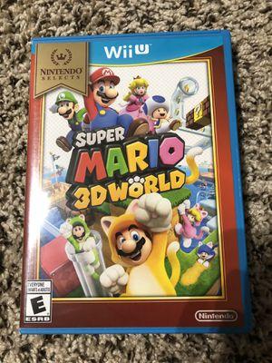 Super Mario 3D World (Nintendo Wii U) for Sale in Fort Worth, TX