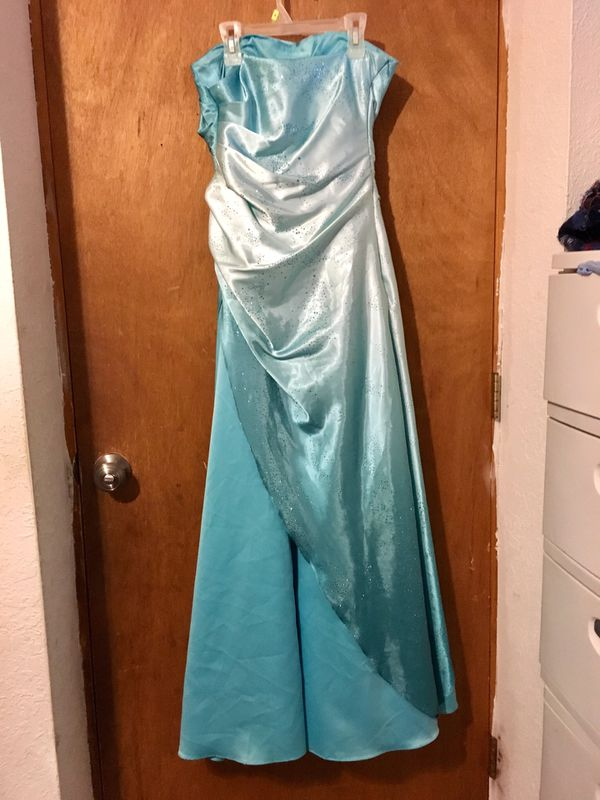 Prom Dress, Blue Ombre Dress, Quinceañera Dress, Elsa Dress