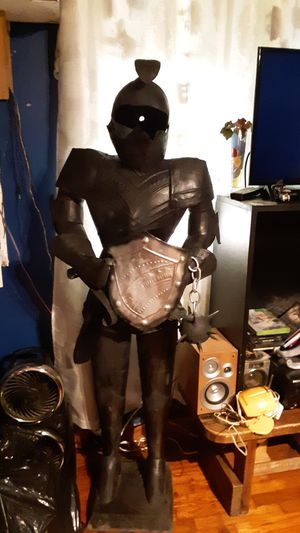Medevil handmade knight armor suit with spike and chain mace for Sale in Paragould, AR