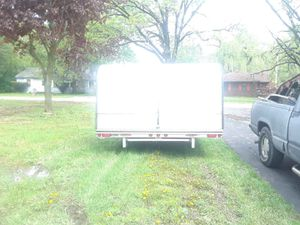 Snowmobile 4 place trailer cover for Sale in McHenry, IL