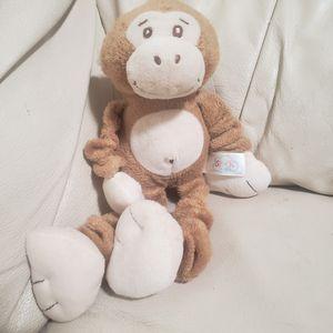 Stuffed monkey rattle for Sale in Elk Ridge, UT