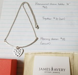 James Avery Charm Holder and Charm for Sale in San Antonio, TX