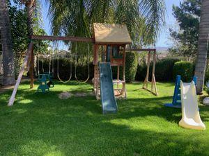 Treehouse swing set for Sale in Palmdale, CA