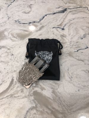 *Limited Edition* The Beard Club Heavy Duty Money Clip w/ Carrying Bag for Sale in Hesperia, CA