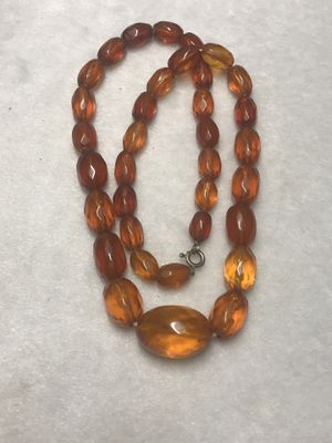 Amber necklace for Sale in Glens Falls, NY