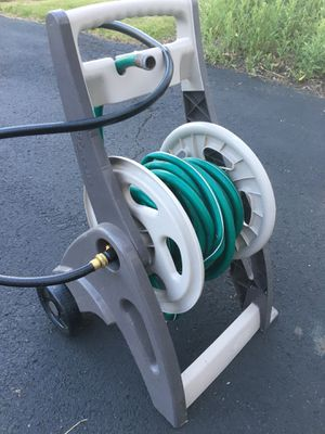 Hose reel and hose for Sale in Oakdale, PA