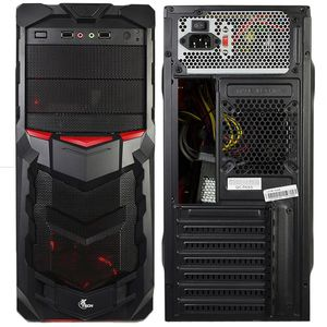 Gaming case with 800watt power supply for Sale in Dearborn, MI