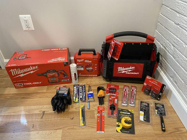 New tools unopened