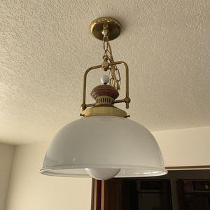 Vintage chandelier dinning room light $10 for Sale in Leavenworth, WA