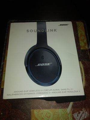 bose soundlink around-ear wireless headphones 2 for Sale in Richmond, CA
