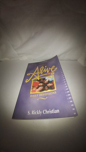 Alive: Daily Devotions by S. Rickly Christian Used for Sale in La Habra Heights, CA