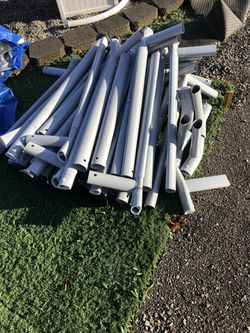 22 Foot By 52 Inch Intex Prism Pool Frame Only for Sale in Tacoma,  WA