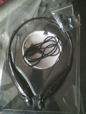 New Multi-function Mp3 around the neck headphones $25 in original packaging. for Sale in Monroeville, PA