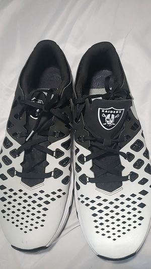Raiders nike shoes for Sale in Escondido, CA