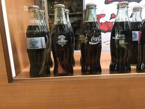Coke and Pepsi glass bottles collection for Sale in Miami, FL