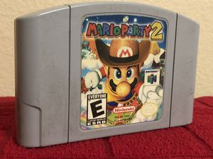 Mario Party 2 for Nintendo 64 official for Sale in Austin, TX
