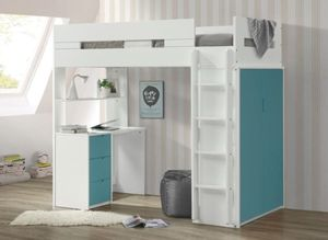 Loft bed twin with workstation FREE LOCAL DELIVERY for Sale in Walnut, CA