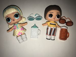 Lol dolls Gogo gurl and mod boi for Sale in Portland, OR