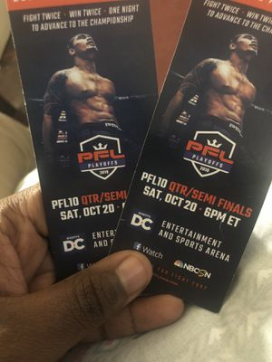 2 TICKETS TO THE PROFESSIONAL BOXING LEAGUE ON SALE ‼️ for Sale in Washington, DC