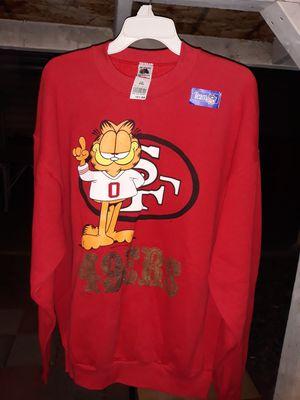 Garfield Sweatshirt 1XL! for Sale in Fontana, CA