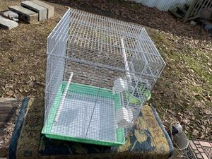 Big bird cage , slightly used for a month for Sale in Grottoes, VA
